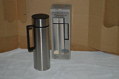 Corning Designs Vtg Thermique Coffee Thermos .9 Liter Hot/Cold Thermal Server