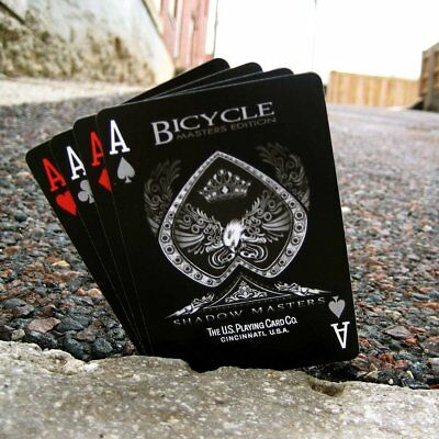 Shadow Masters Playing Cards Ellusionist Bicycle Premium Deck