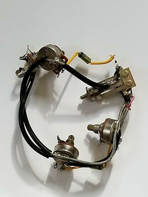 vintage gibson wiring harness 1958 fr les paul fit 1957 goldtop 110 ATV Wiring Harness gibson wiring harness 1975 les paul vintage 1970\u0027s electronics w
