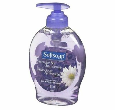 Softsoap Hand Soap Lavender & Chamomile 225ml 4 Pack