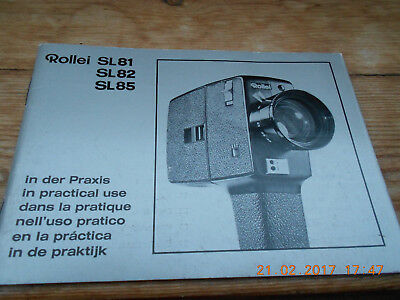 rollei sl81 sl82 sl85 super 8 camera manual