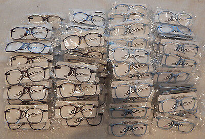 Vintage 100 Pc. Elan #77 P3 Carbon 55 Eye Eyeglass Frame Lot NOS lot#69