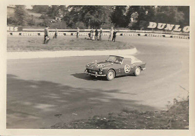 TRIUMPH SPITFIRE, J.S.TOUT, 30th AUGUST 1965, PHOTOGRAPH.