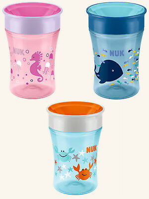 NUK Magic Cup 230ml Baby Trinkbecher div. Motive Trinklernbecher 8. Monat