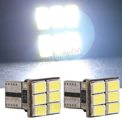 300 X Canbus Error Free White T10 5630 6SMD Wedge LED Light bulbs W5W 194 168