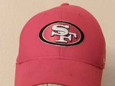 3c9593e5643 San Francisco 49ers NFL Red Flex Fit Football Ball Cap OSFA Team Apparel  Reebok