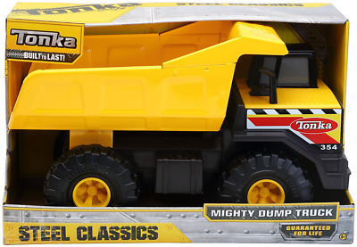 Tonka 93918 Steel Classic Mighty Dump Truck