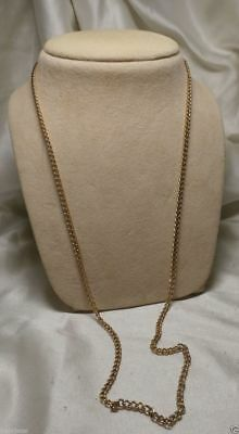 Gold Chain FASHION Jewelry Necklace Vintage ANTIQUE Women Simple