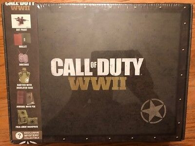 CALL OF DUTY WWII SPECIAL EDITION Mystery Subscription Box CultureFly 6+ items
