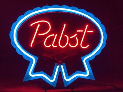 Pabst Blue Ribbon Classic Neon Light Vintage Sign