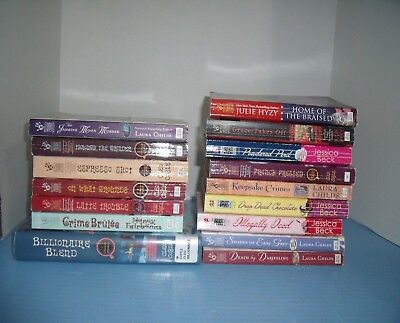 Cozy Mysteries Cleo Coyle Jessica Beck Julie Hyzy*espresso Shot*lot Of 16