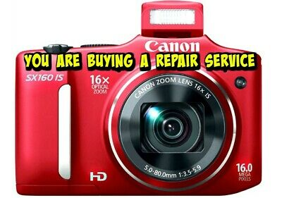 CANON PowerShot SX160 IS Repair Service for your Digital Camera w/60 Day Warr.