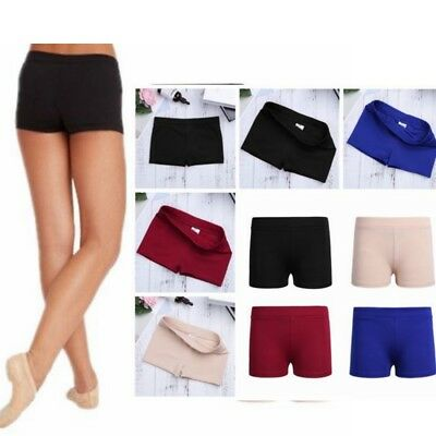 Girl Dance Shorts Boy Cut Body Shorts Pants Kid Yoga Sports Gym Gymnastics Pants