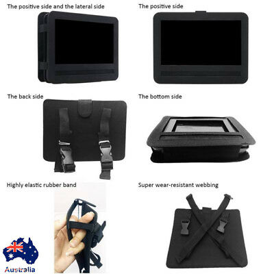 "AU Car Headrest Mount Holder for 7'' 9"" 10'' Portable DVD Player Straps Holder"