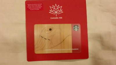 2018 Canadian 150 Years Anniversary Gift Card Limited Edition Eagle - Canada