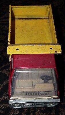 1960s? Red/Yellow  Tonka Hauling Dump Toy Truck Antique / Vintage  # 13200 13240