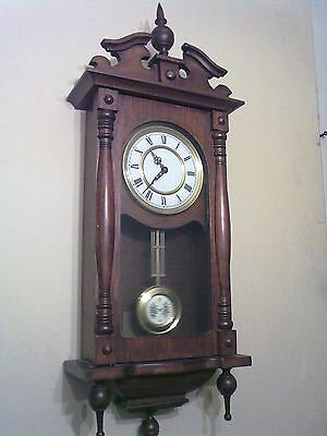 Vienna Wall Clock (Chiming On The Half & Hour)