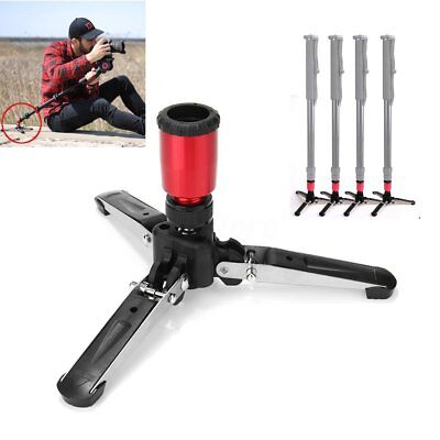 3 Legs 3/8'' Support Bracket Stand Base Mini Tripod for Monopod Benro Manfrotto