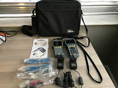 IDEAL SignalTEK Gigabit Ethernet Certifier Optical Cable Tester with Remote