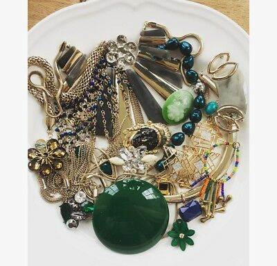 Broken Jewellery Lot, New Used Old Vintage Spares Repairs Beads Crafts