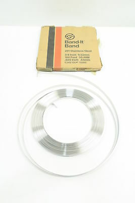 New Band-It C203 Edp 13203 201 Stainless Steel Band 3/8In 100Ft D591082