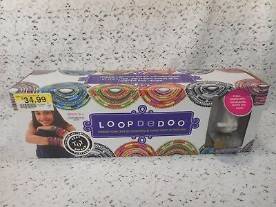LOOP DE DOO Jewelry Making Kit - Loom and Some Thread - Necklaces, Bracelets....