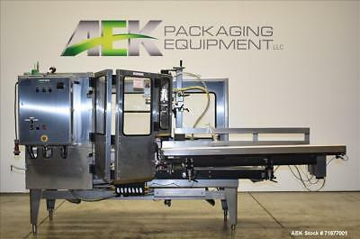 Used-  Wexxar Model WFT Automatic Case Erector/Former and bottom tape Sealer. Ma