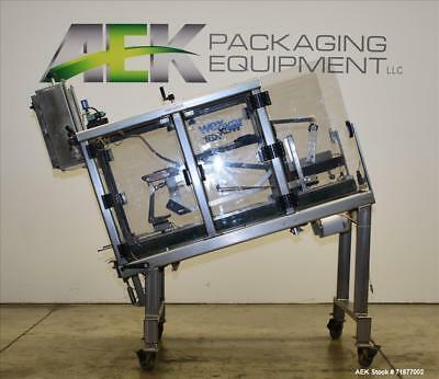 Used- Wexxar Model WST-07 Automatic Top and Bottom Case Taper. Machine is capabl