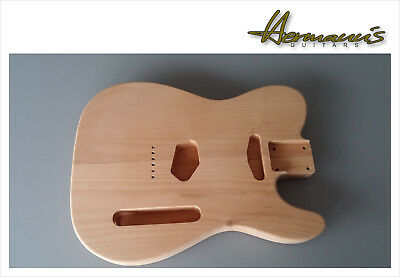 Telecaster Body, Telecaster 2 Piece Erle Body, unfinished, unlackiert