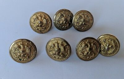Navy Military Uniform Buttons WW2 WWII 1940s Vintage Superior Quality