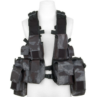 MFH South African Assault Vest Paintball Army Military Tactical HDT Camo LE Camo
