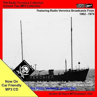 Pirate RADIO VERONICA VOLUME Two [approx 25 hours NOW on Car Friendly MP3CD]