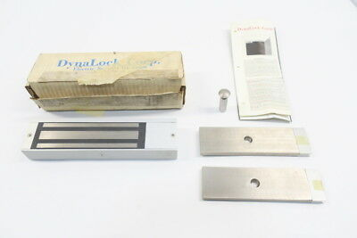 New Dynalock 3000 Electromagnetic Lock 1500Lbs Holding Force 12-24V-Dc D591158