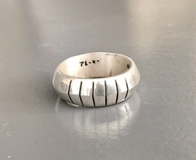 Alter Silber-Ring--925--Taxco Mexico---Gr.59/60---(N58)---