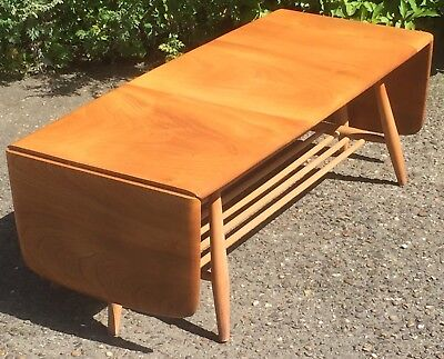 Outstanding Retro Ercol Extending Coffee Table Clean Condition We Can Deliver
