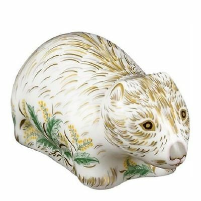 New Royal Crown Derby 1st Quality Wombat Paperweight