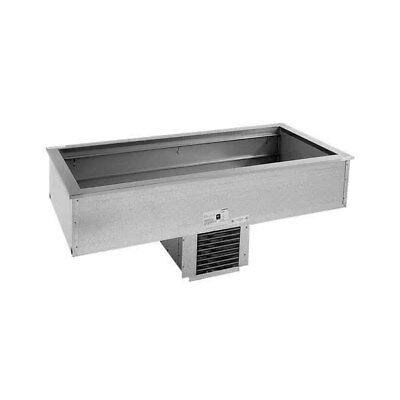 Delfield 6-Pan Drop-In Mechanically Cooled Food Well