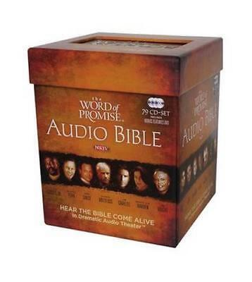 NEW NKJV The Word Of Promise Complete Audio Bible, Audio CD By Nelson Bibles