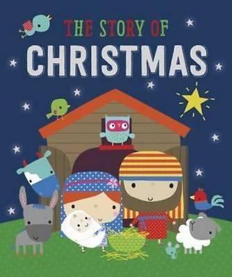 NEW The Story of Christmas By Dawn Machell Board Book Free Shipping