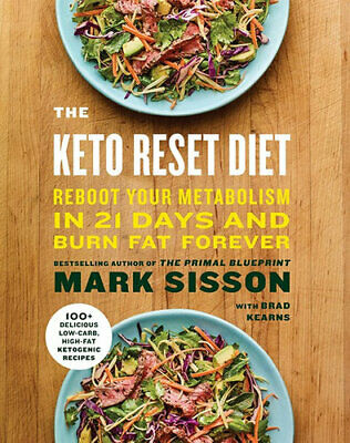 NEW The Keto Reset Diet By Mark Sisson Paperback Free Shipping