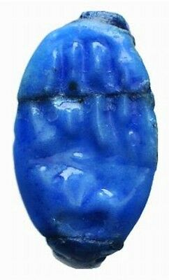 LAC ANCIENT EGYPT TIME OF KING TUT FAIENCE RING.  20 mm  52