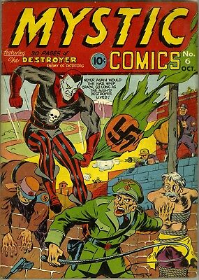 Mystic Comics #6 (1941)  Photocopy Comic Book - Timely Comics