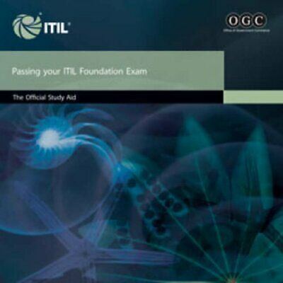 Passing your ITIL foundation exam: the offi... by OGC - Office of Gove Paperback