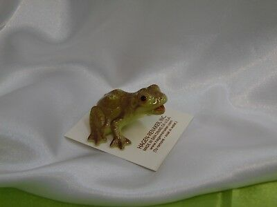 Hagen Renaker Mouth Open Frog Figurine Miniature 4028 FREE SHIPPING NEW Retired