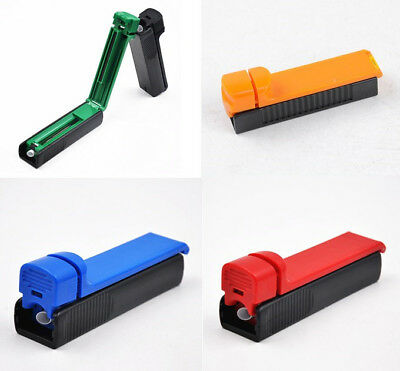 Colorful Manual Cigarette Tube Rolling Machine Tobacco Roller Injector Maker 1pc