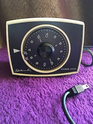 Vintage Intermatic Time All B 421 24 hour electric lamp timer control USA Made