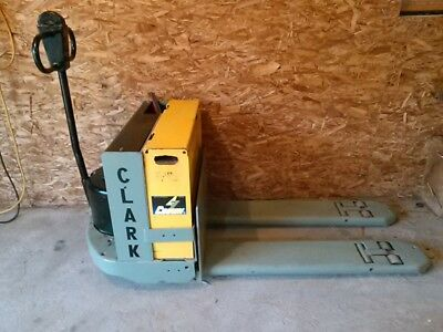Clark 4,000 # Lift Electric Pallet Jack with Battery and Charger