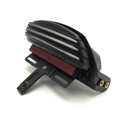 Tri-Bar Fender LED Tail Light with Turn Signal For Softail FXSTB FXSTC FLSTS