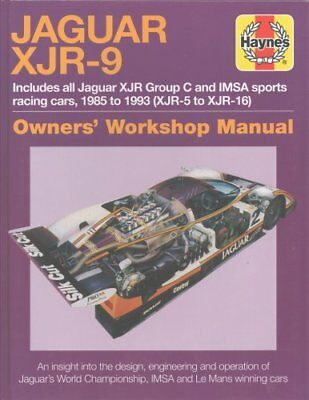 Jaguar XJR-9 Owners Workshop Manual: 1985 to 1992 by Michael Cotton...