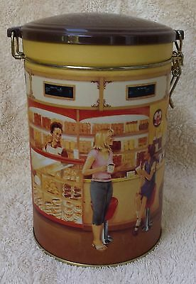 TIM HORTON'S Coffee Tea Canister Gathering Place First Edition #1 Collectors